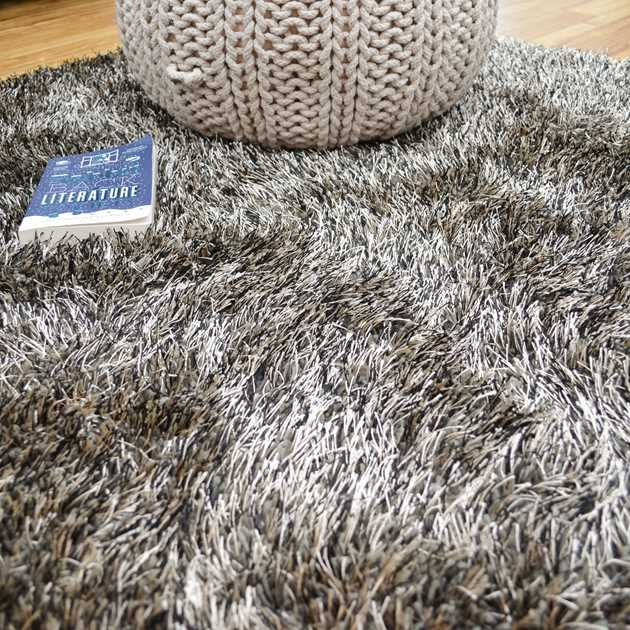 Love Shaggy Rugs in Taupe