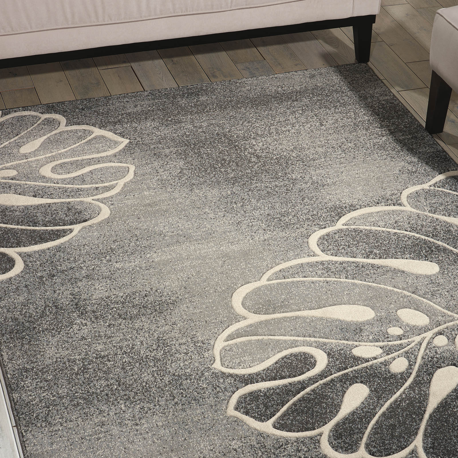 Maxell Rugs MAE04 by Nourison in Grey