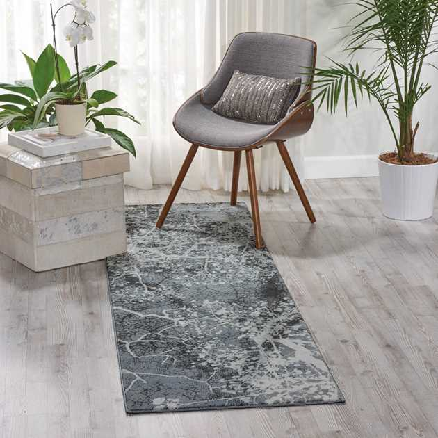 Maxell Rugs MAE11 by Nourison in Grey
