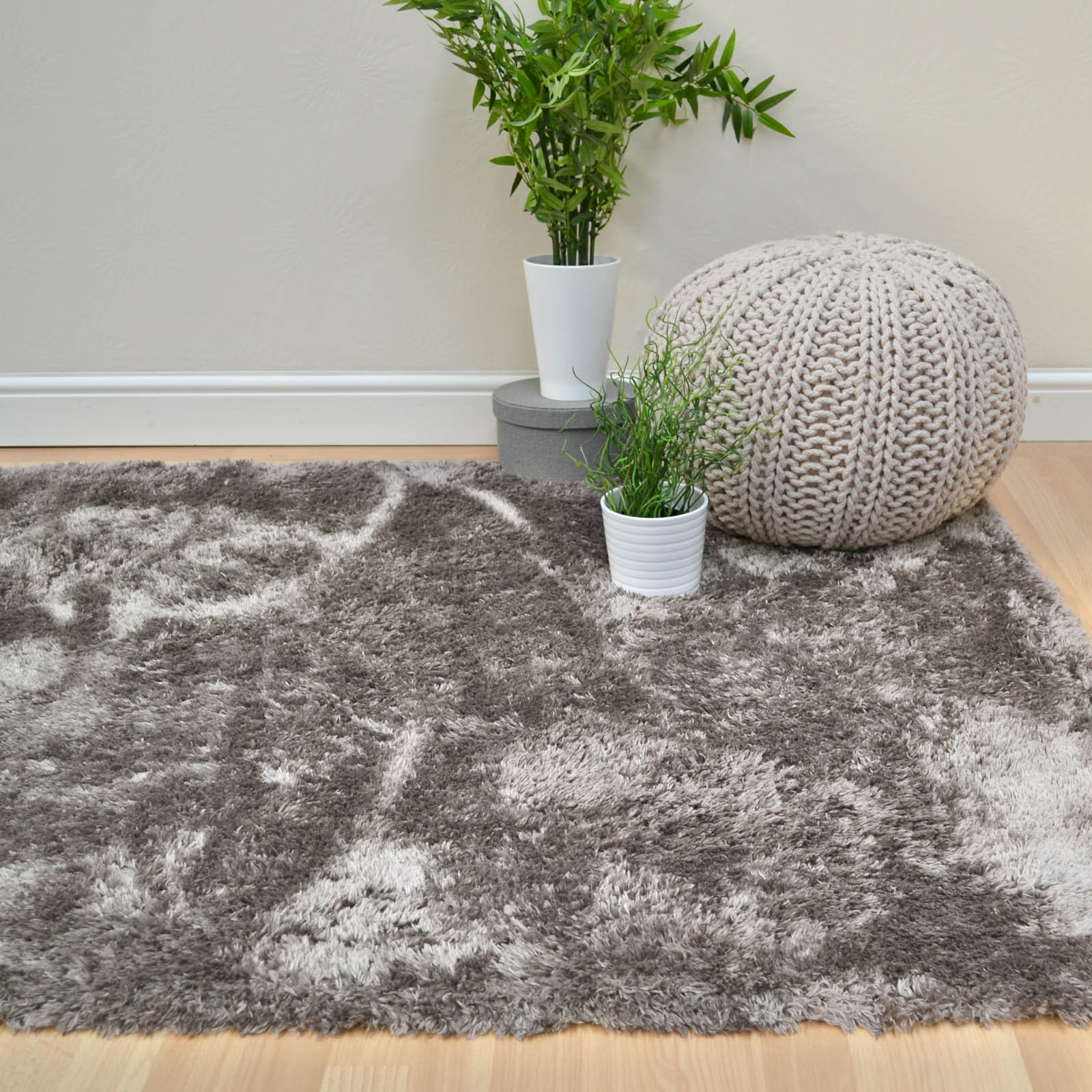 Plantation Marshmallow Rugs MAR01 in Taupe
