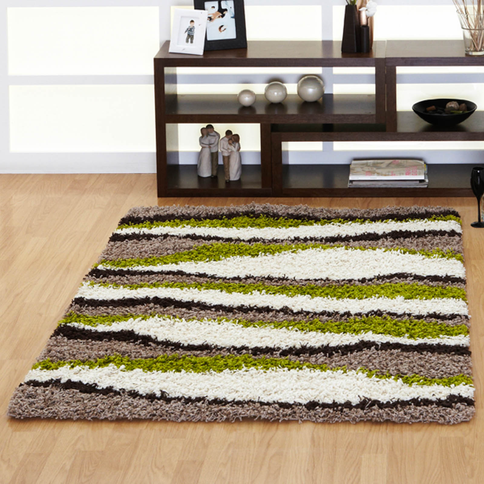 Mont Blanc Rugs MB09 in Green