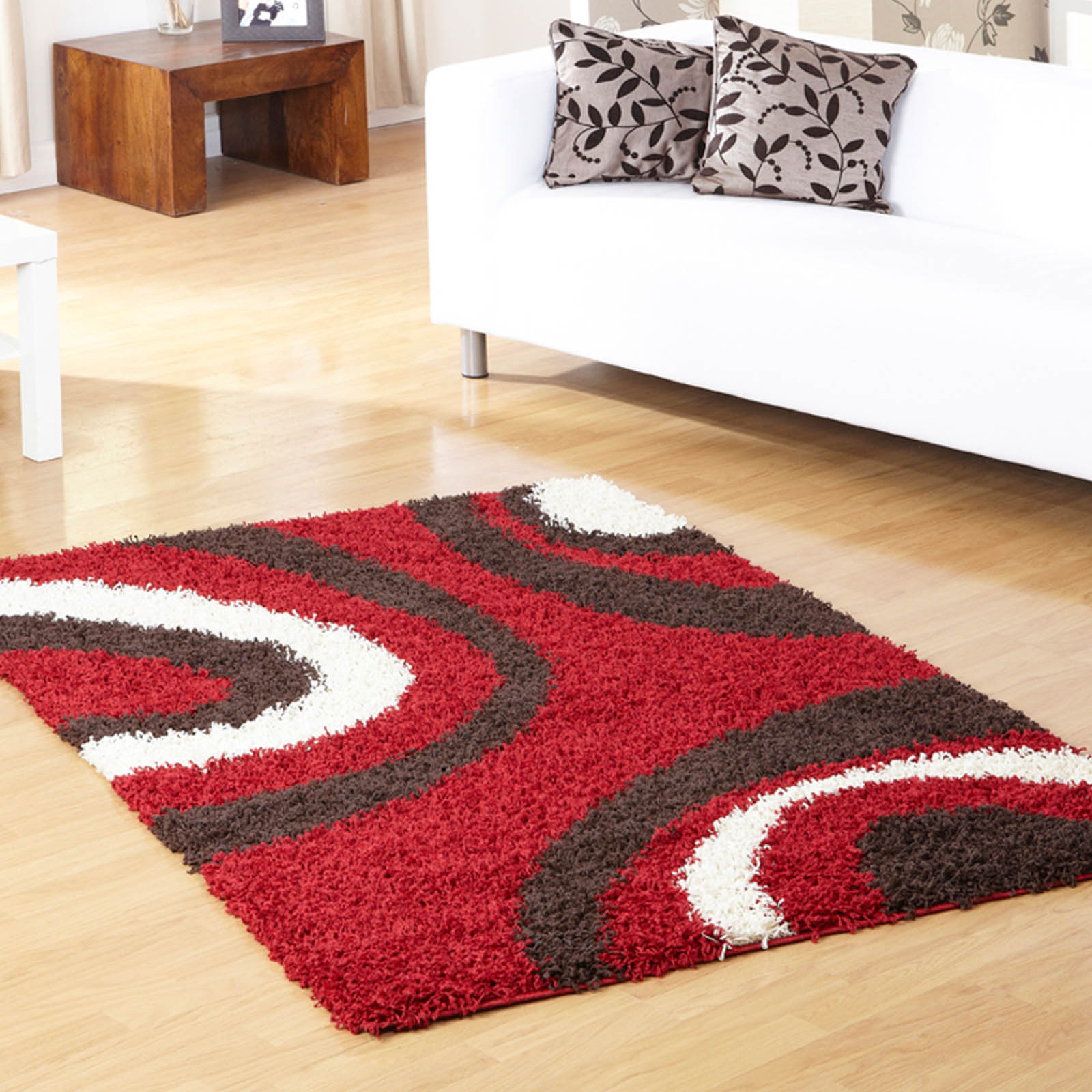 Mont Blanc Rugs MB13 in Red