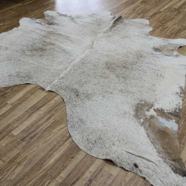 Cowhide Rugs MER081704 in Beige and Brown