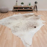 Cowhide - Cream Brown