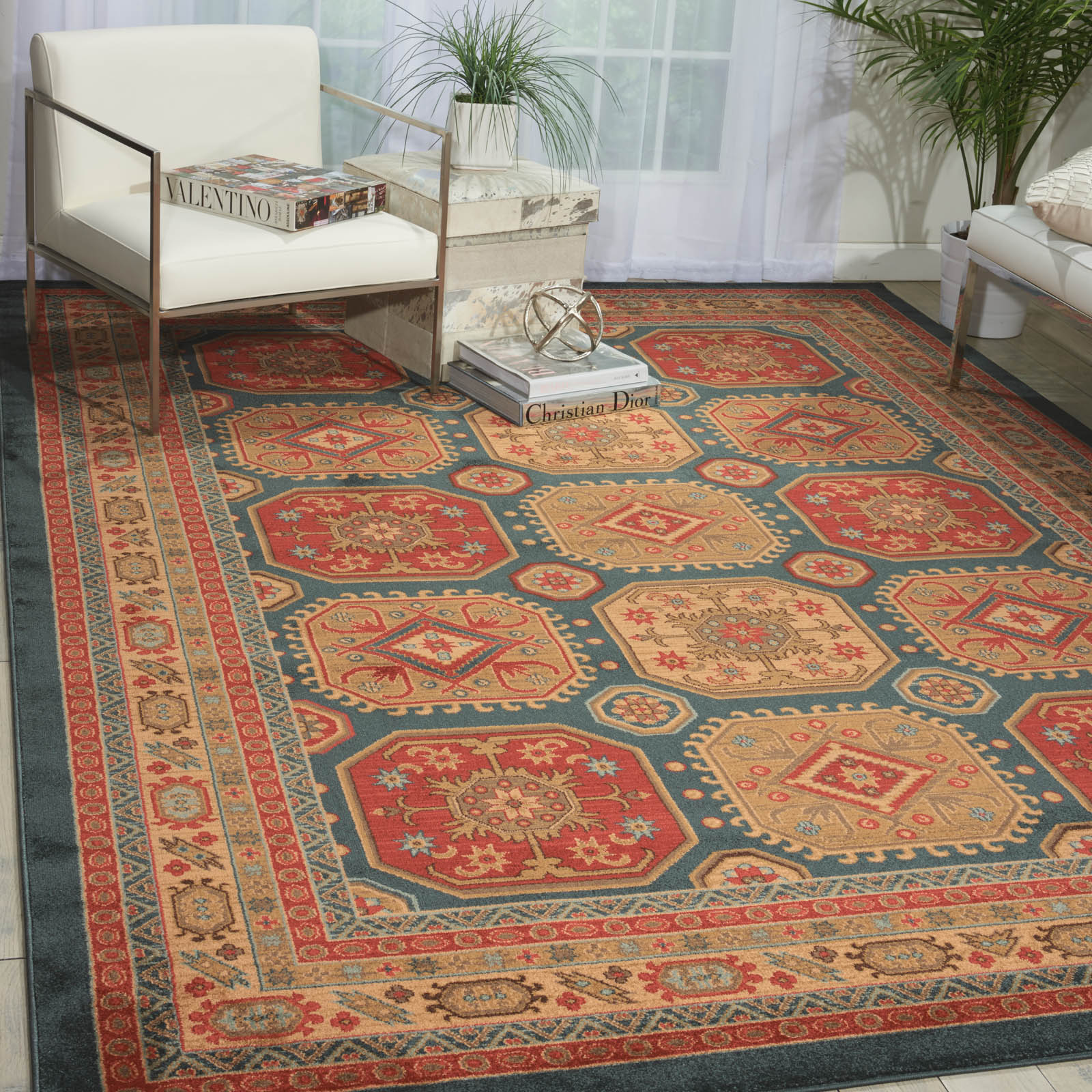 Maymana Rug MYN13 in Midnight