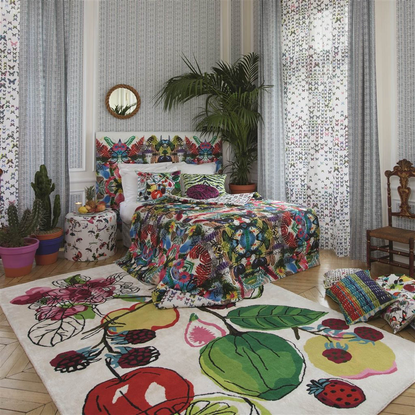 Manaos Perroquet Rugs by Christian Lacroix