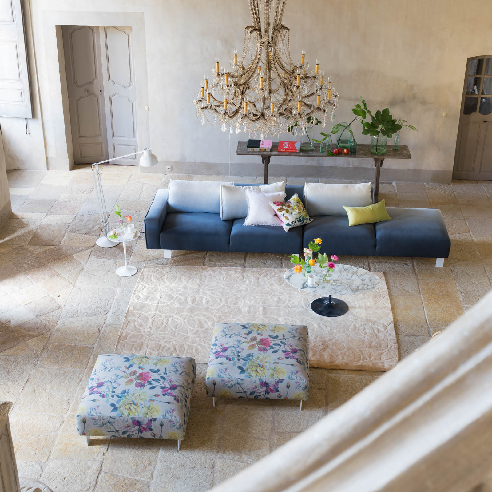 Marquisette Alabaster Rug by Designers Guild