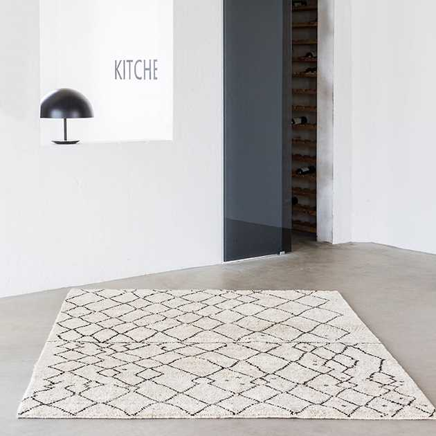 Marrakesh Rugs in Natural and Grey by Massimo