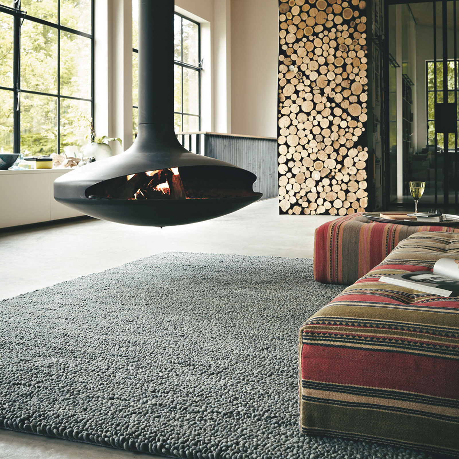 Metal Rugs 18904 Grey by Brink and Campman