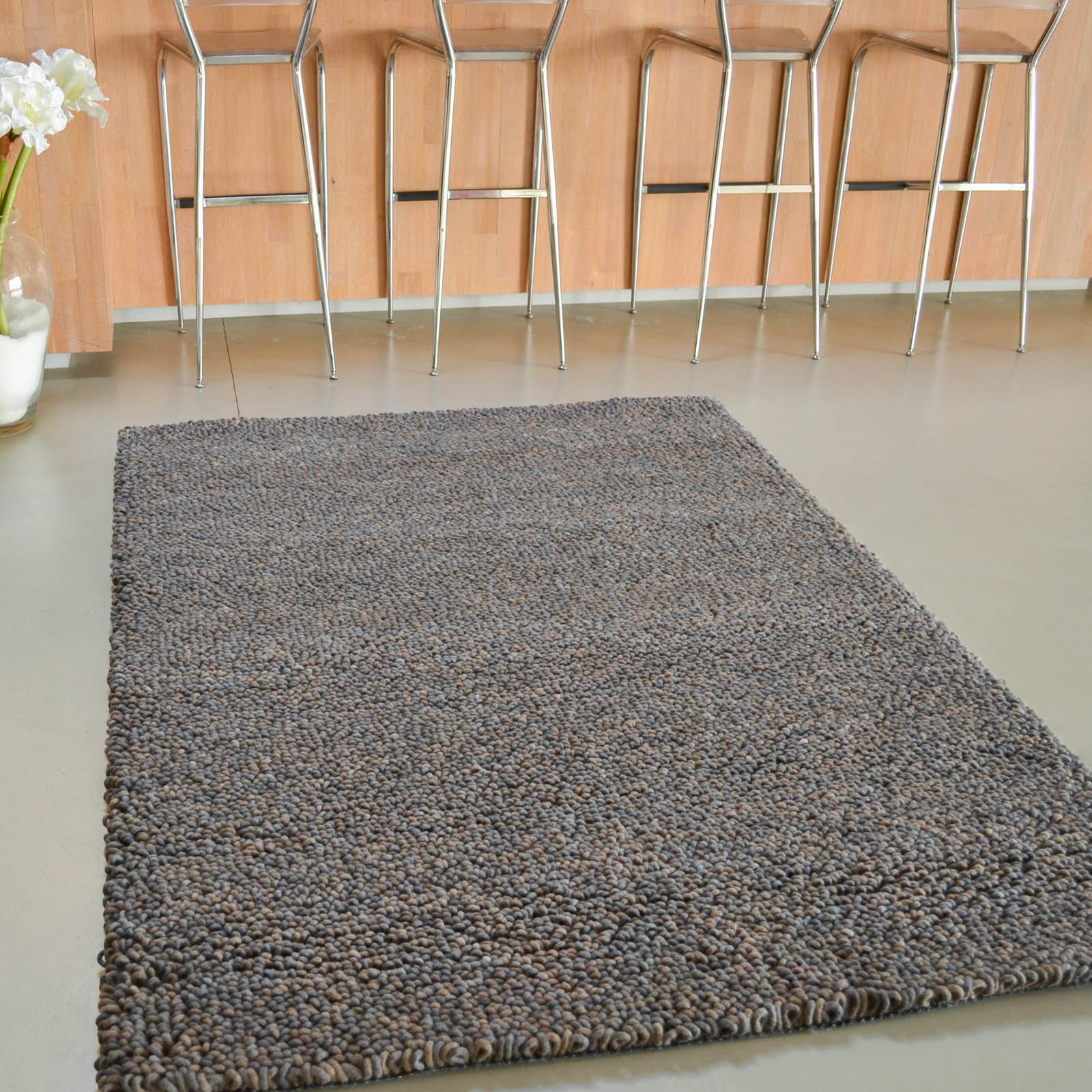 Metal Rugs 18905 Brown by Brink and Campman
