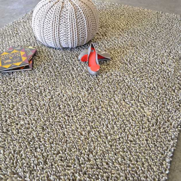 Gravel Mix Shaggy Rugs by Brink & Campman 68201
