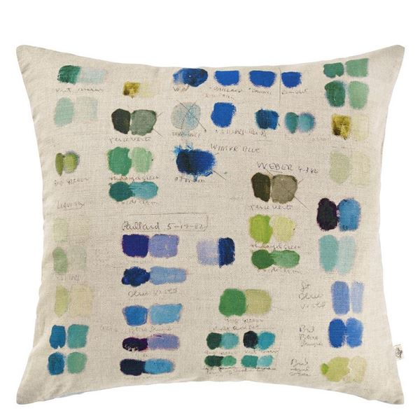 Mixed Tones Cushion - Cobalt