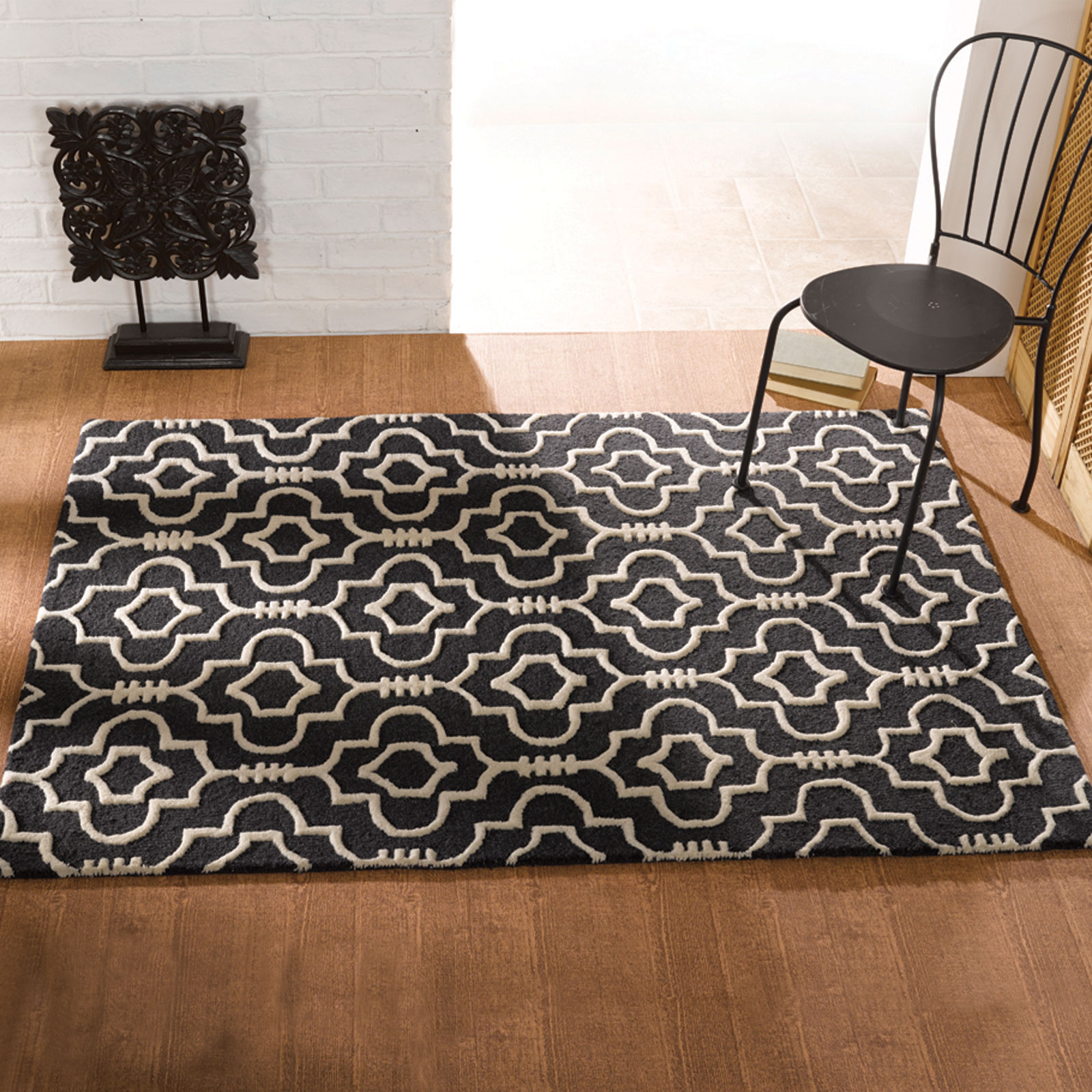 Moorish Morocco Rugs In Charcoal