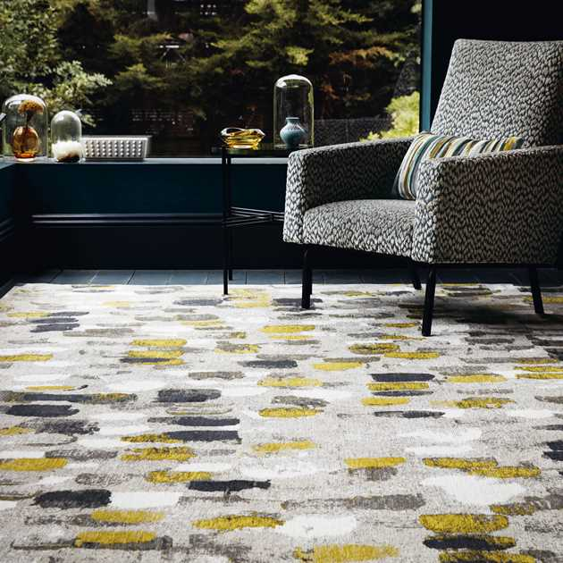 Romo Murano rugs 8740 in Sunflower
