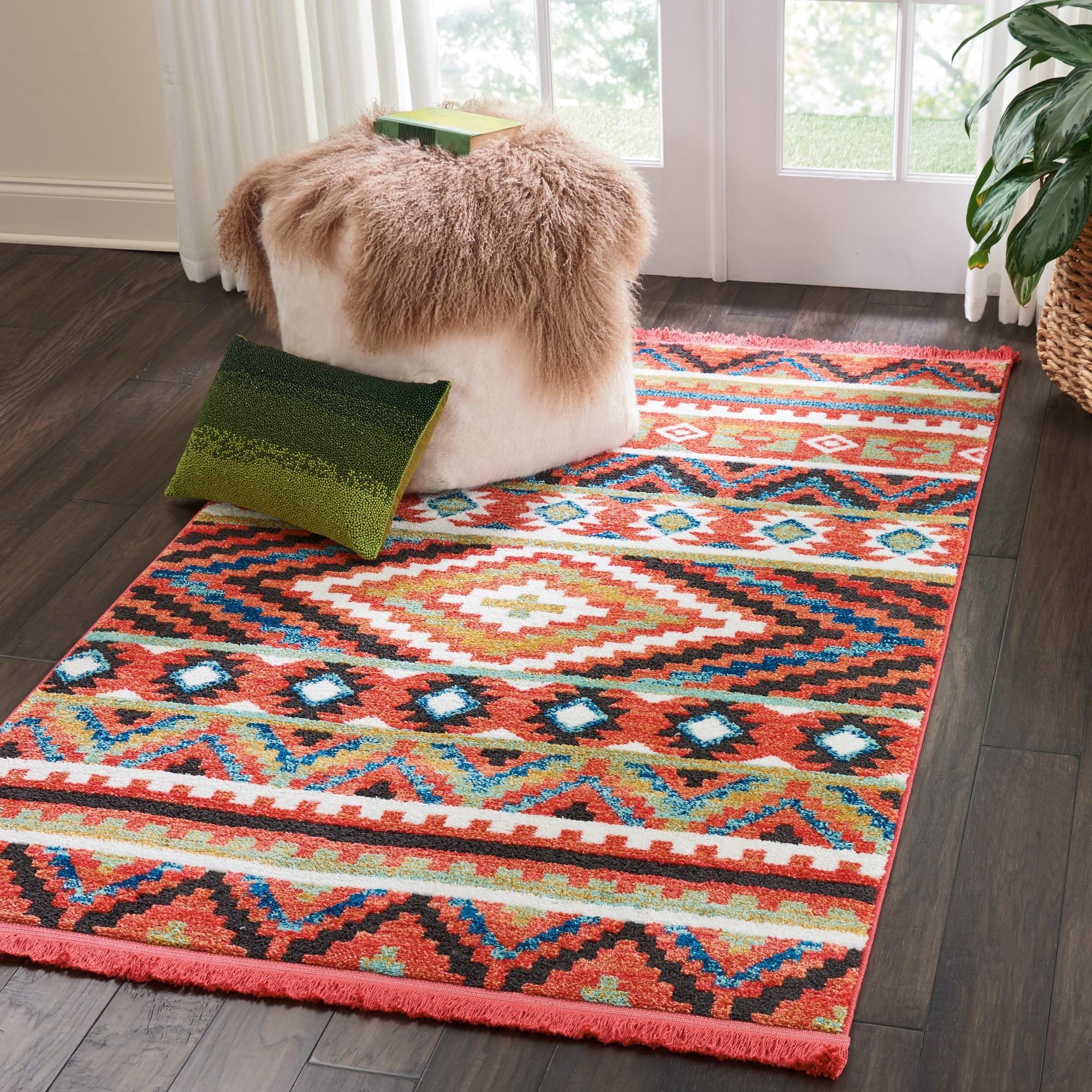 navajo rugs nav04 in orange nourison navajo rug designs for kids81 kids