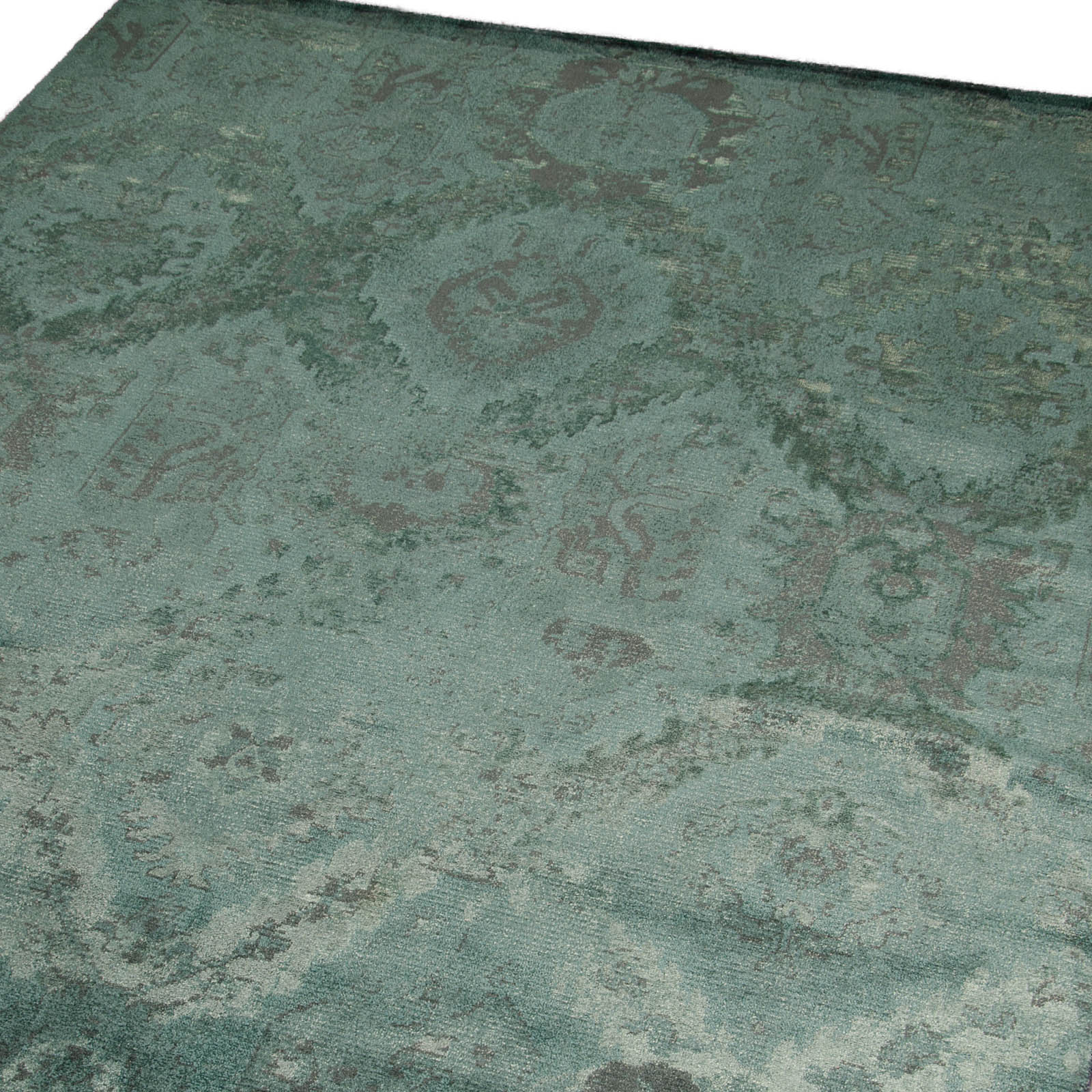 Nourison Nightfall Rugs NGT01 in Absinthe