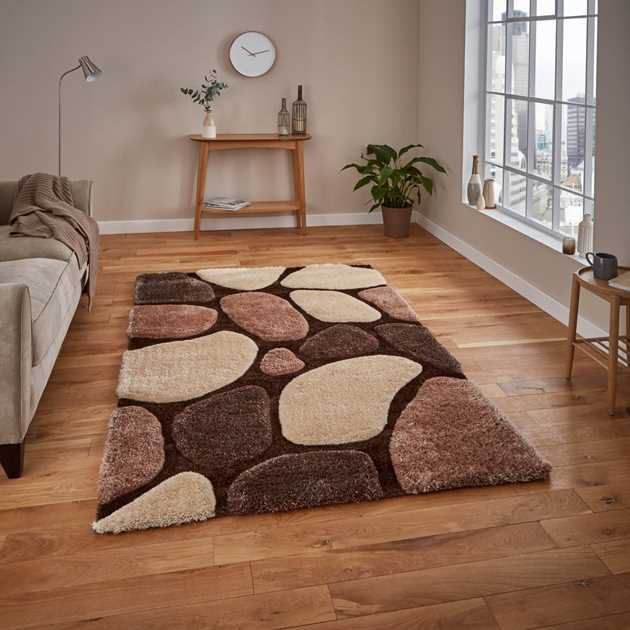 Noble House Rugs NH G1631 Beige Brown