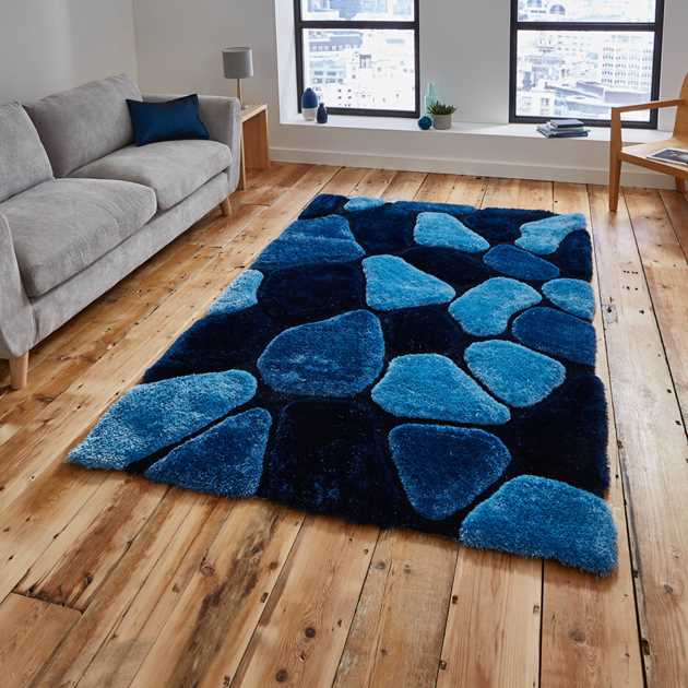 Noble House Rugs NH 5858 in Blue
