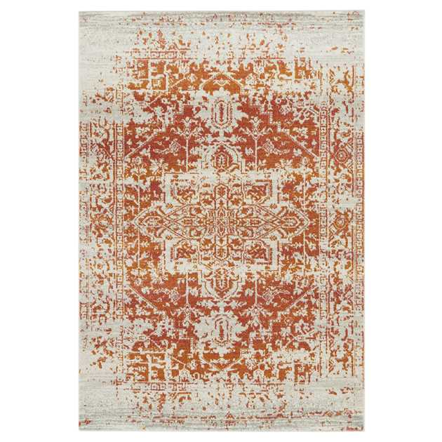 Nova Rugs NV09 in Antique Orange