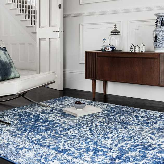 Nova Rugs NV11 in Antique Navy