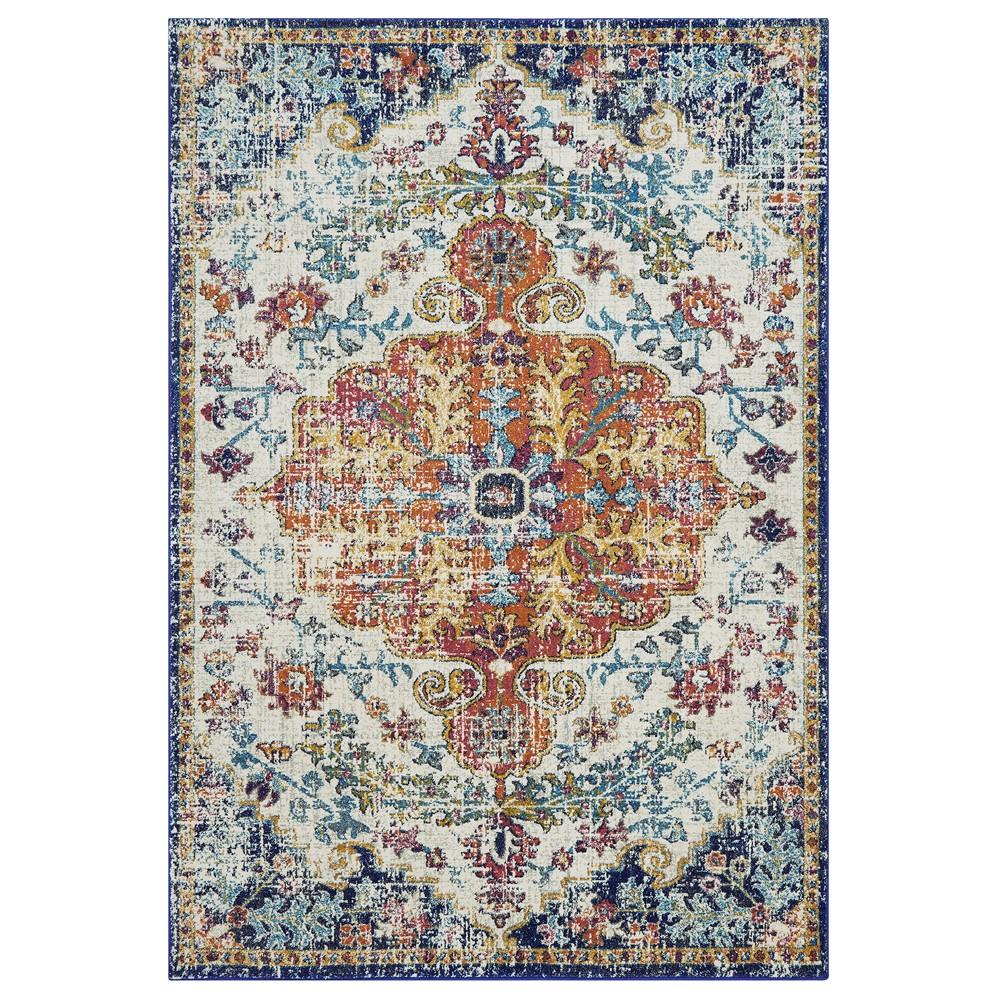 Nova Rugs NV12 in Medallion Multi buy online from the rug seller uk