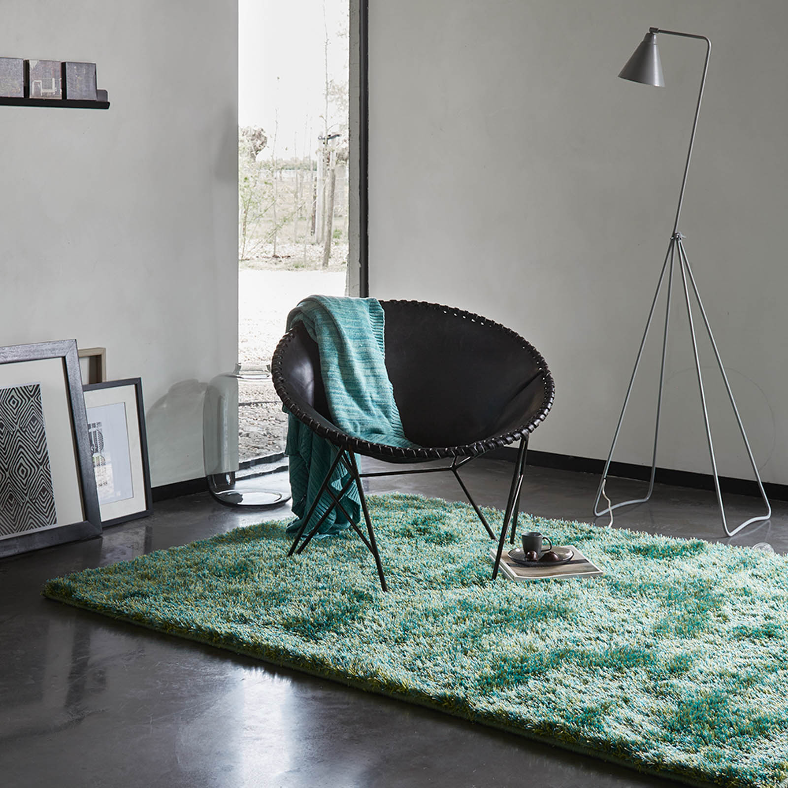 Esprit New Glamour Rugs 3303 17 Green