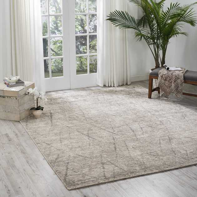Ocean Rugs OCP02 in Ash by Nourison