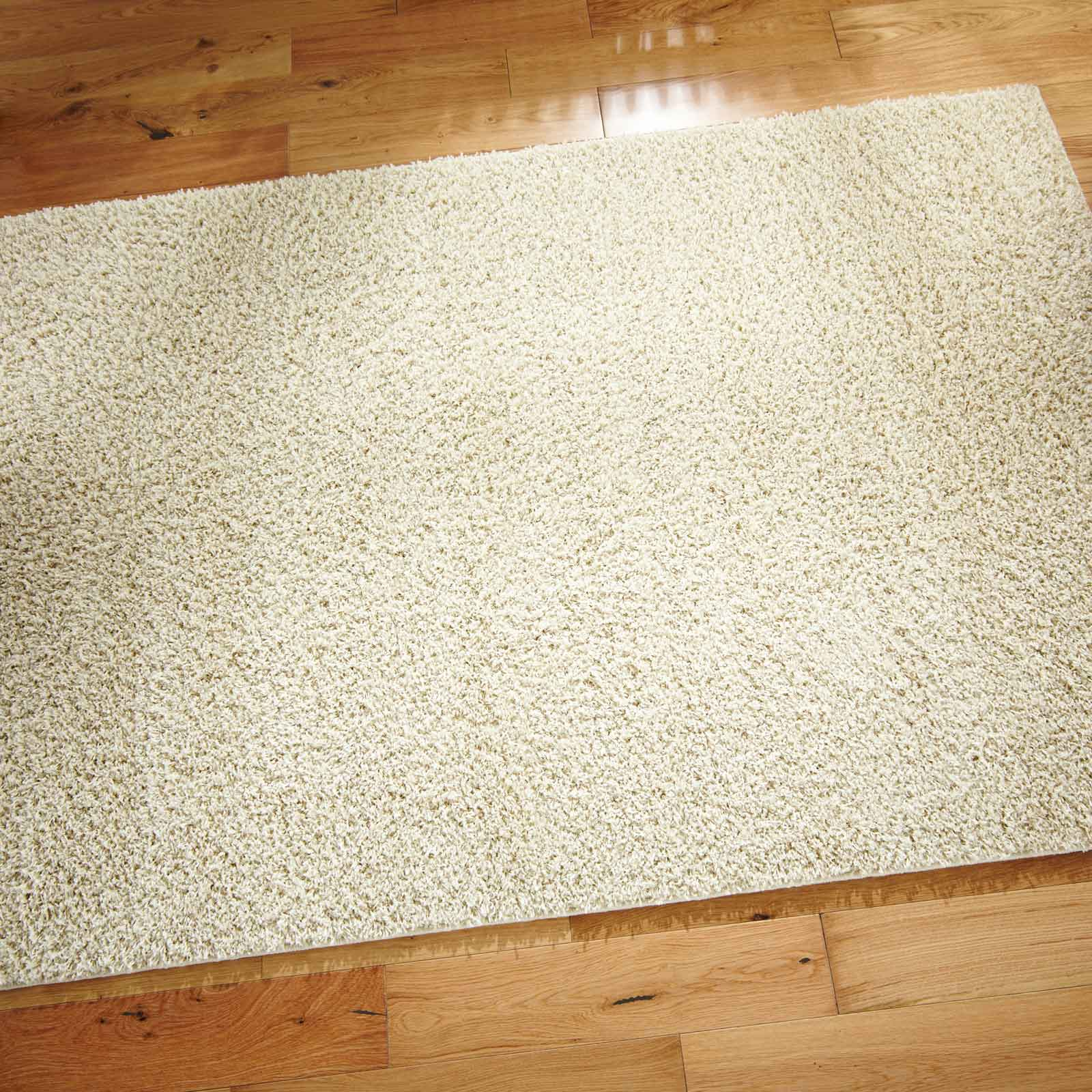 Opus Shaggy Rugs in Cream