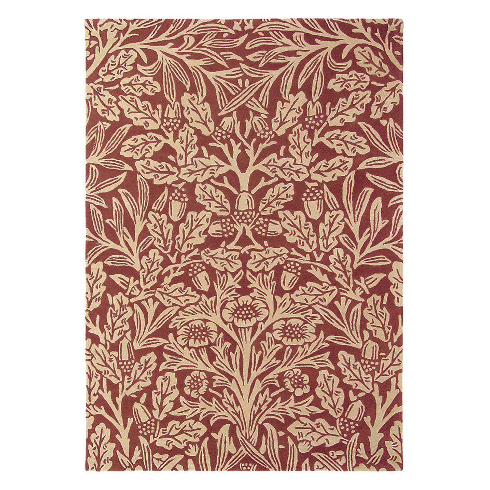 Oak Rugs 27900 Crimson by William Morris