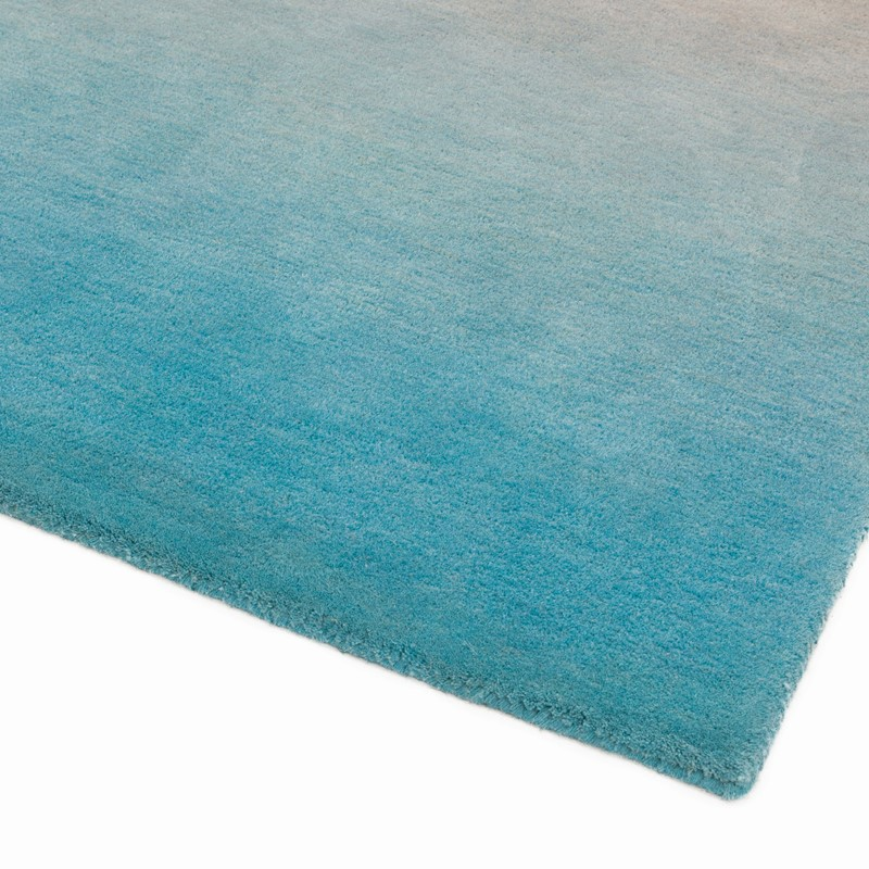 Ombre Wool Rugs In Blue Buy Online From The Rug Seller Uk