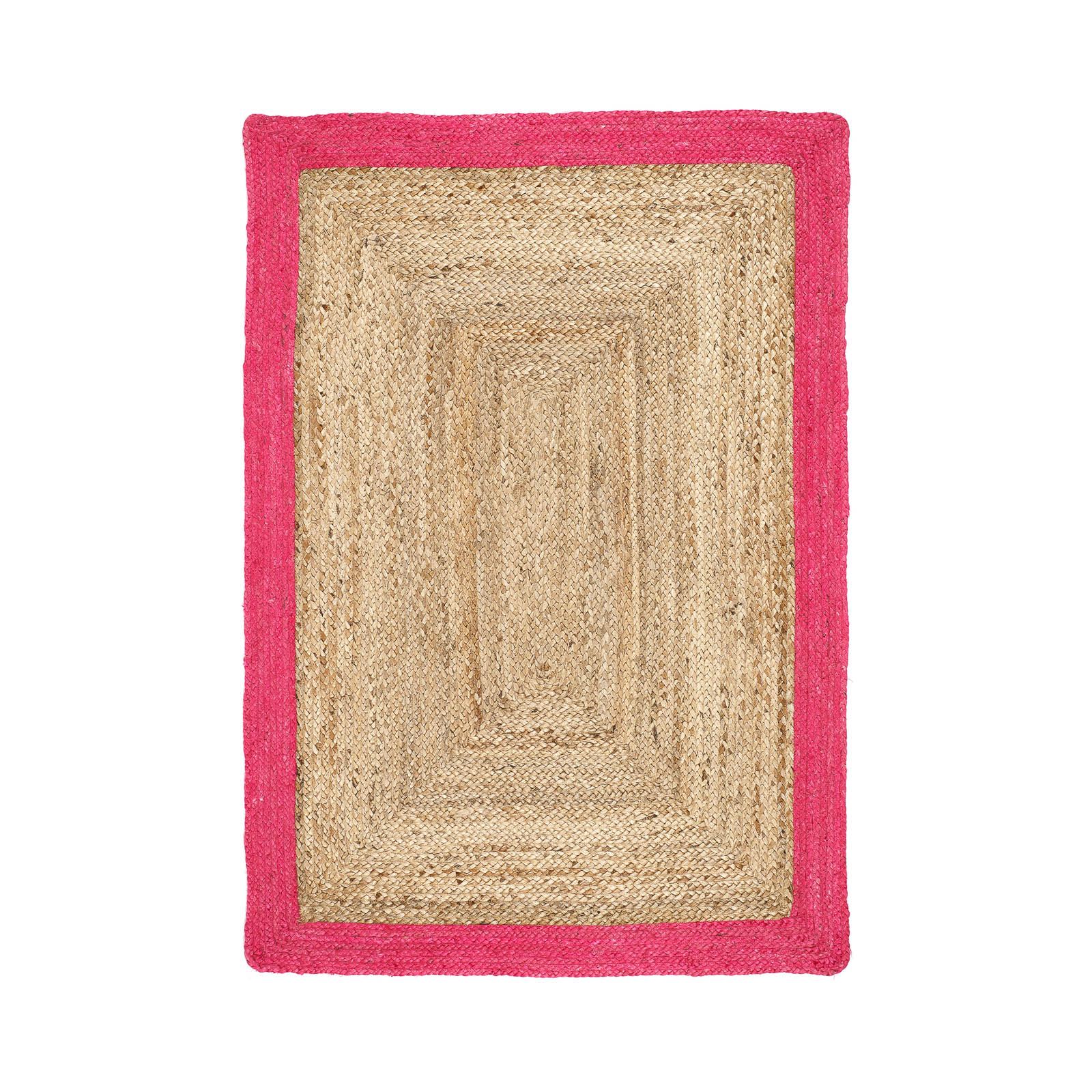 Jute Bordered Rugs In Duck Egg Buy Online From The Rug