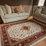 Ottoman Temple - Cream Red