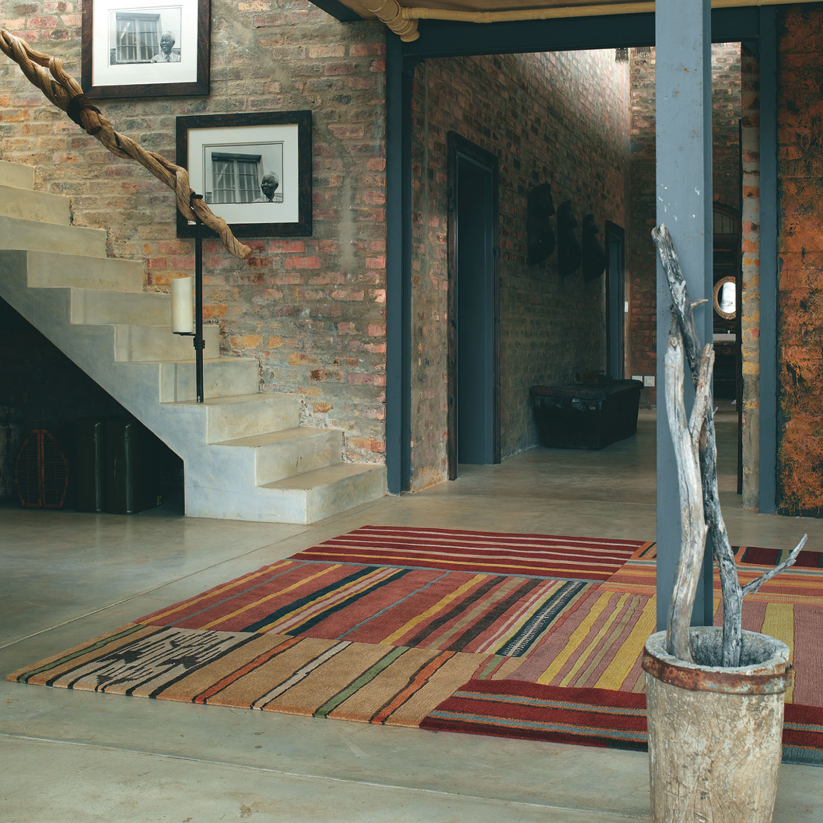 Himali Out Of The Blue 33803 Hand Knotted Wool Rugs by Brink & Campman
