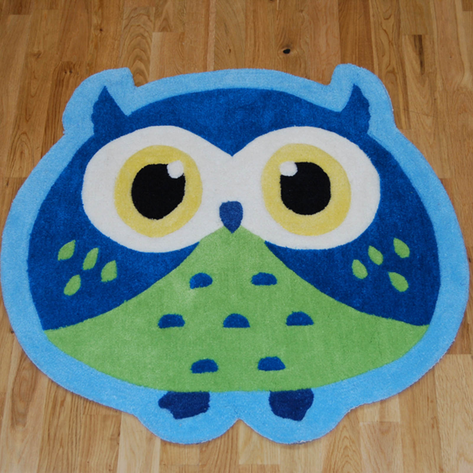 hong kong owl rugs in blue free uk delivery the rug seller