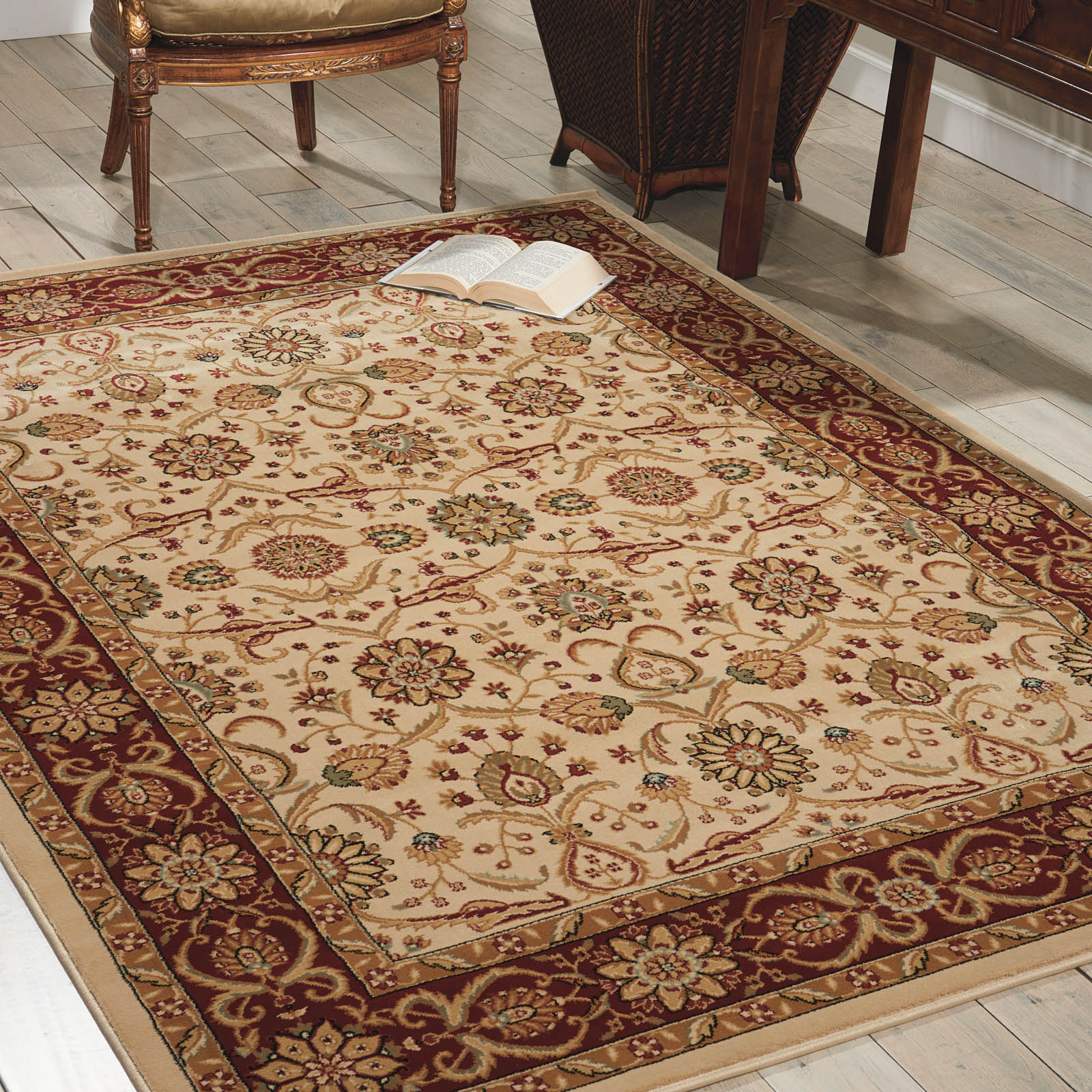 Persian Crown Rugs PC001 Cream