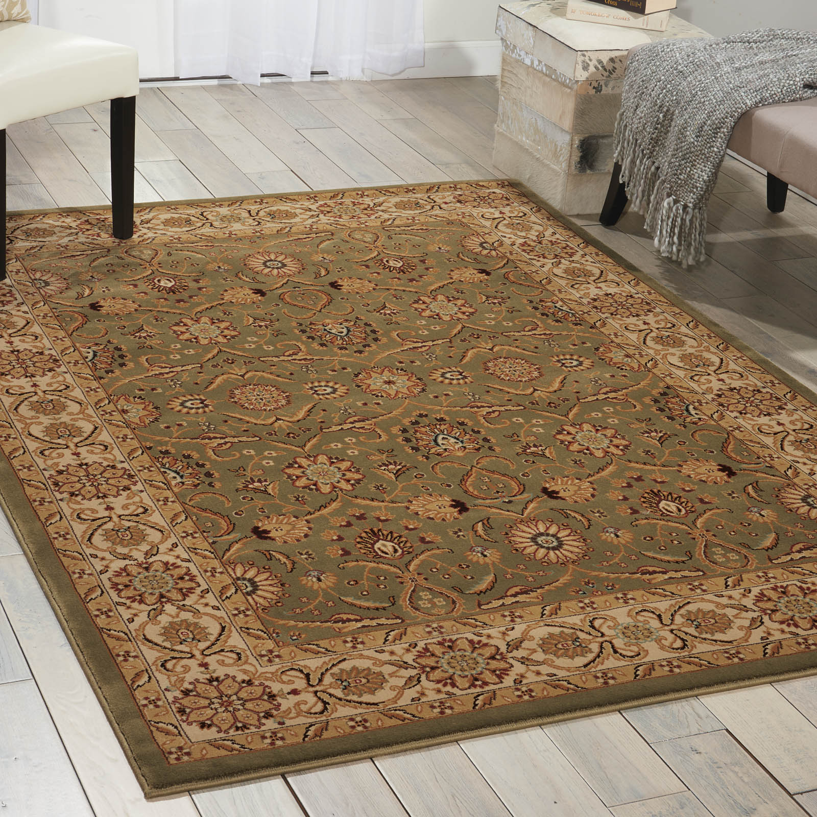 Persian Crown Rugs PC001 Green