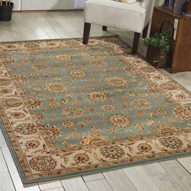 Persian Crown Rugs PC002 Blue