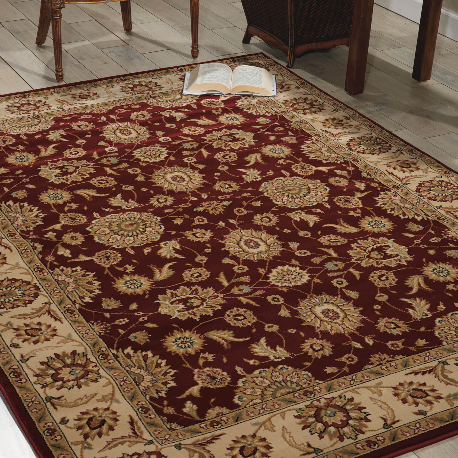 Persian Crown Rugs PC002 Red