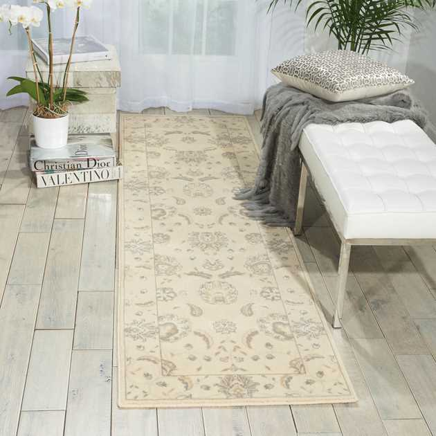 Persian Empire Runners PE22 Bone by Nourison