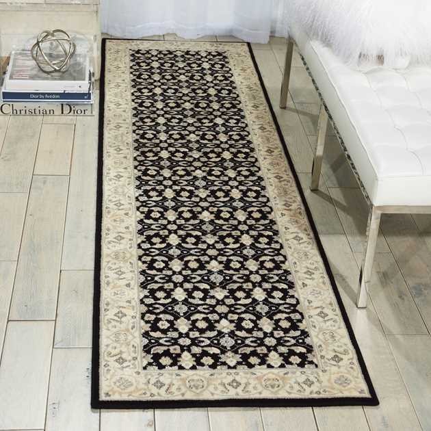 Persian Empire Runners PE26 Black by Nourison
