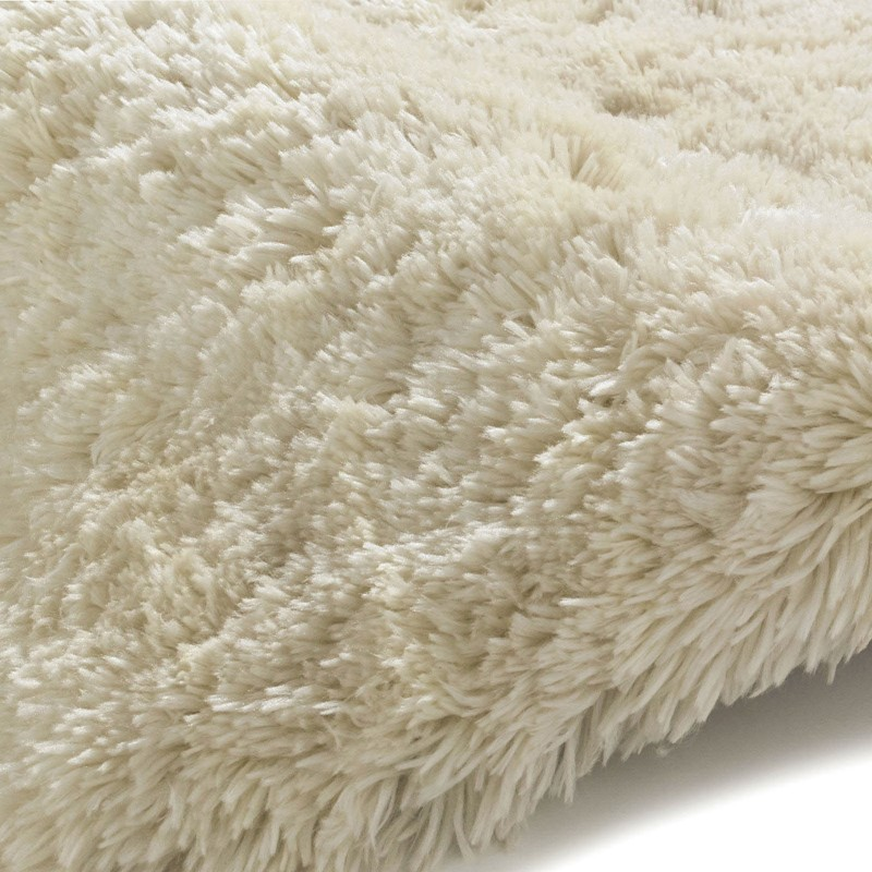 Polar PL95 Shaggy Rugs In Cream Buy Online From The Rug