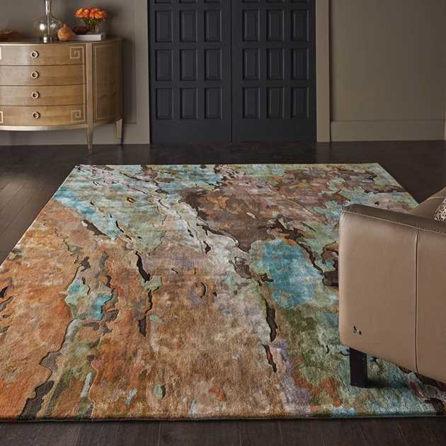 Prismatic Multi-Coloured Rugs PRS09 by Nourison