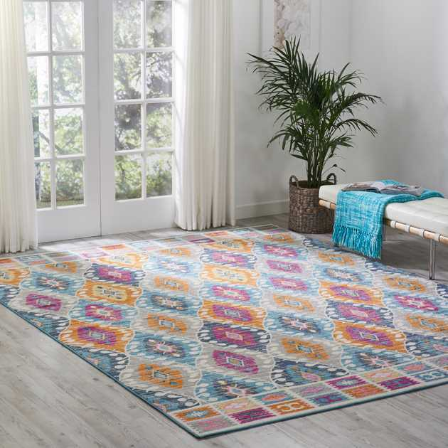 Passion Multi-coloured Rugs PSN02