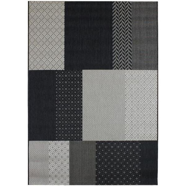 PAT01 Patchwork - Charcoal