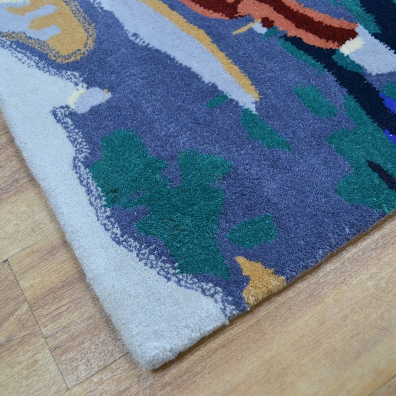 c827b621bb3 Peacock Painting Multi-Coloured Rugs buy online from the rug seller uk