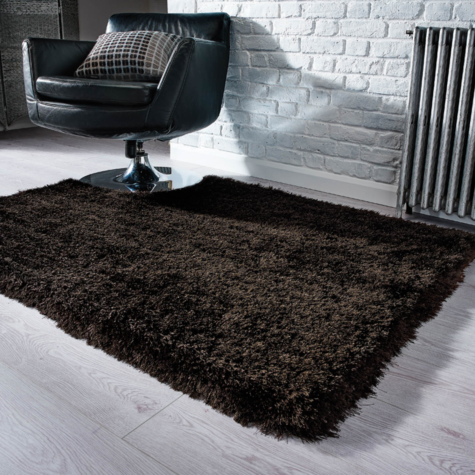 Pearl Rugs in Chocolate Brown