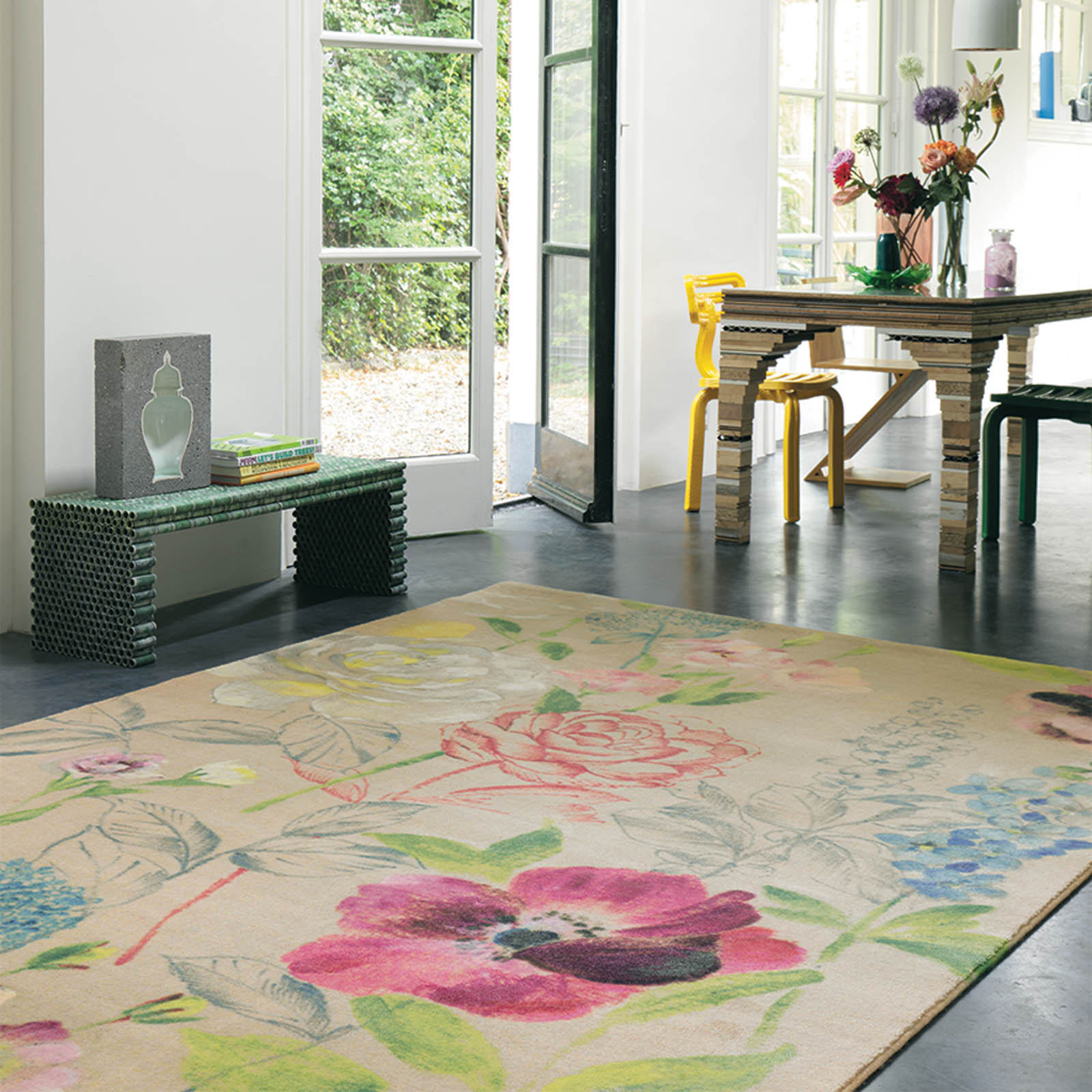 Holograph Perfume Rugs 16301 by Brink and Campman