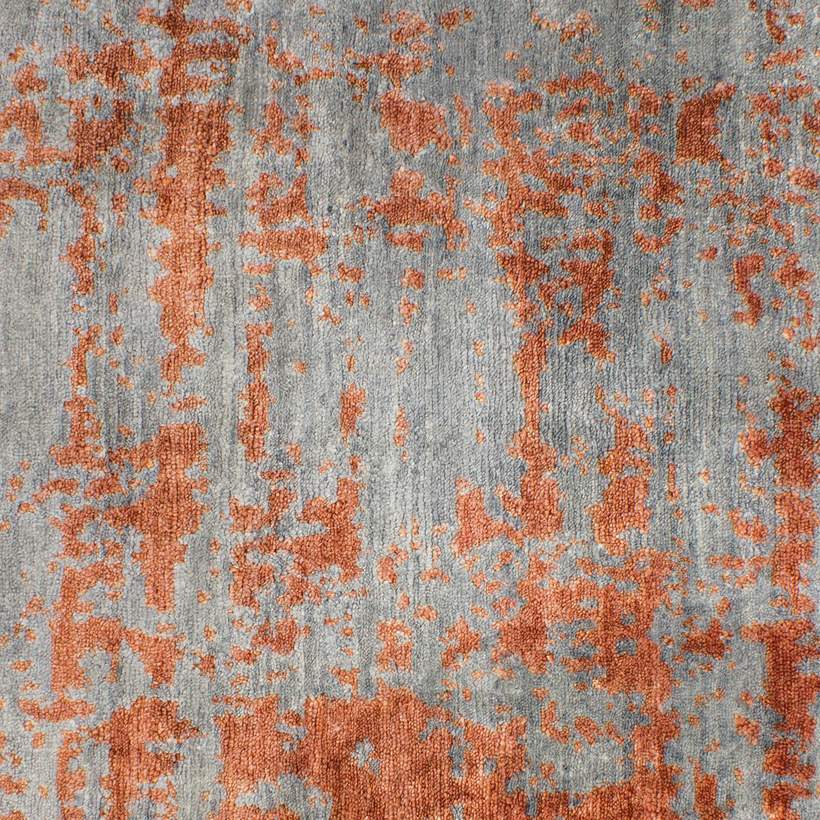 Picasso Rugs in Grey and Orange 3976