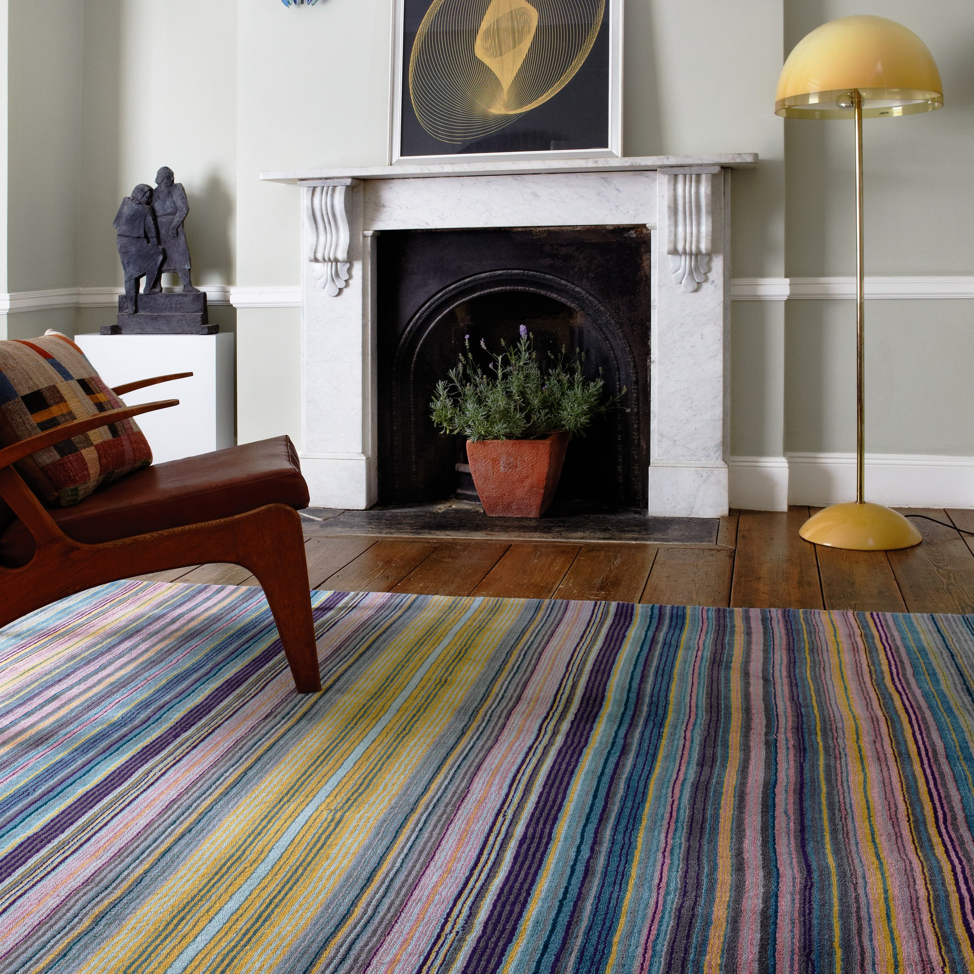 Pimlico Rugs in Blue