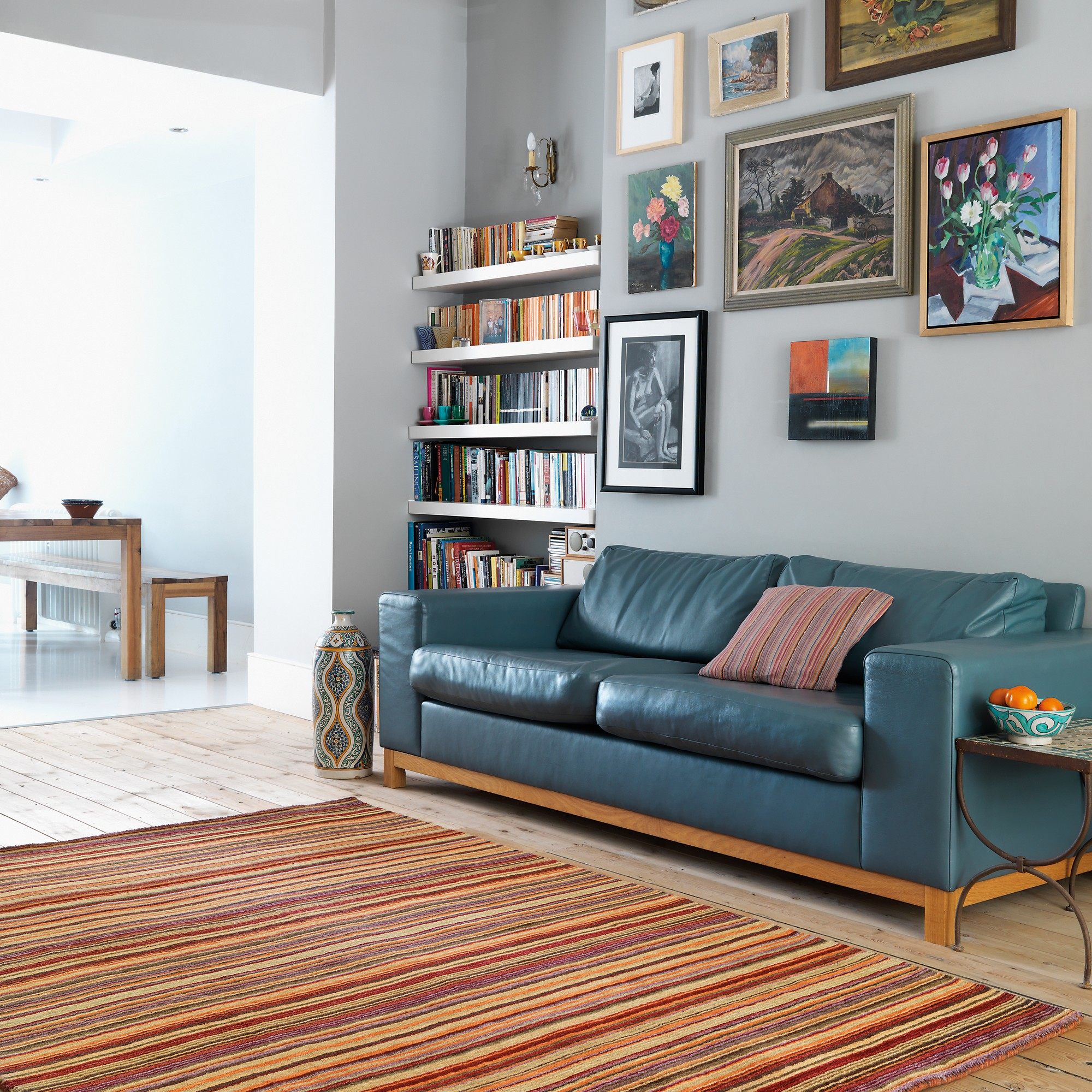 Pimlico Rugs in Red